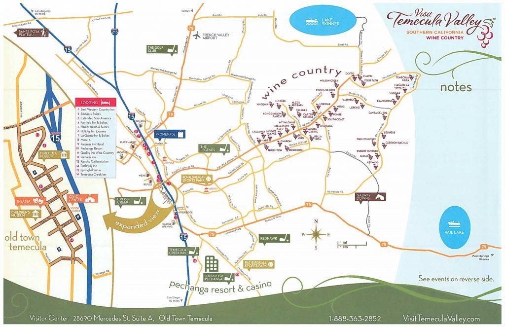 Temecula Map My City Temecula
